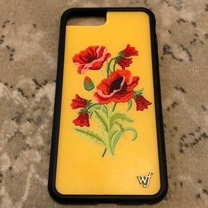 Wildflower iPhone 8 Plus Yellow Floral Case